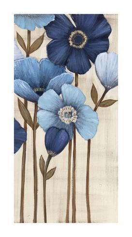 Spanish landscape Espana Flowers Floral Giclee Reproduction 10x10