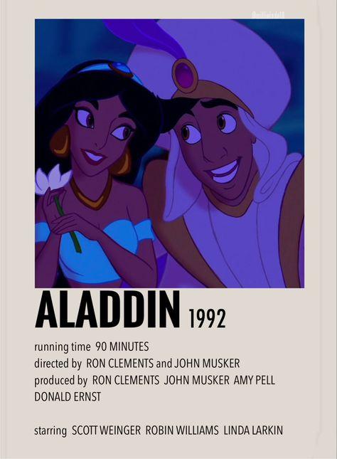 Aladdin by Millie