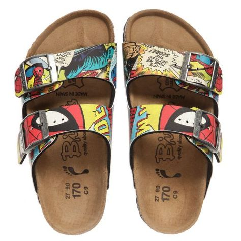 f9505ac25bfc28 Birkenstock - Comic Arizona Sandals