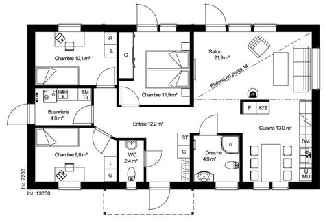 Maison Ossature Bois Kit C24 Plan De Maison