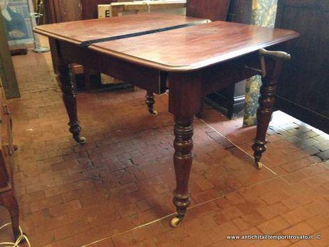 Mobili Antichi Tavoli Allungabili Tavolo Apribile A Manovella