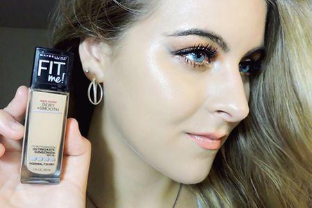 كريم اساس ميبلين فيت مي بكل أنواعه مع درجات لون ومميزات وسعر كل نوع Foundation For Dry Skin Maybelline How To Apply Makeup