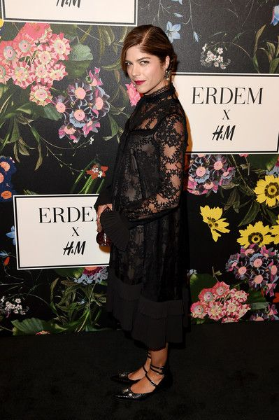 Selma Blair attends the H&M x ERDEM Runway Show & Party at The Ebell Club of Los Angeles.