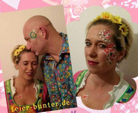 List Of Pinterest Schminken Karneval Hippie Pictures Pinterest