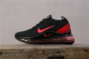 Nike Air Max 720 KPU Black Orange 849558 008 Men's Casual Shoes 849558 008