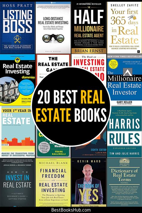 20 Best Real Estate Books (2021 Review) - Best Books Hub