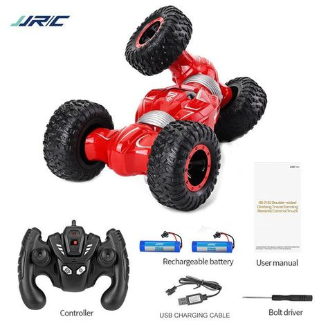 High Speed Climbing  RC Car - Red 2 batteries