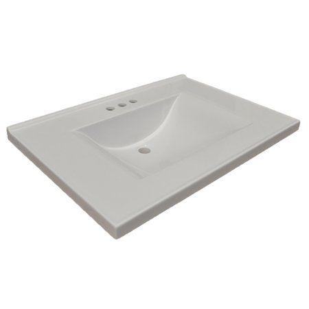 Home Improvement Marble Vanity Tops Single Sink Vanity Bathroom Vanity Tops