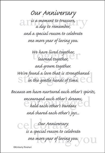 A Poem For A Page Collection Our Anniversary 5 X 7 Scrapbook Sticker S Anniversary Quotes For Couple Anniversary Quotes For Him Happy Anniversary To My Husband