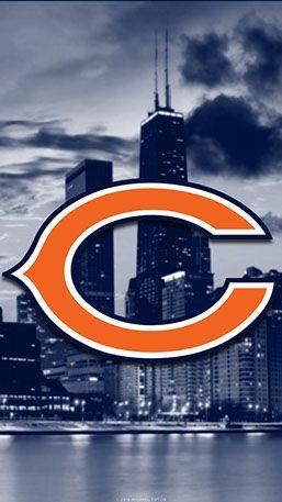 Chicago Bears Mobile City Team Logo Wallpaper Chicago Bears Pictures Chicago Bears Wallpaper Chicago Bears Football Logo
