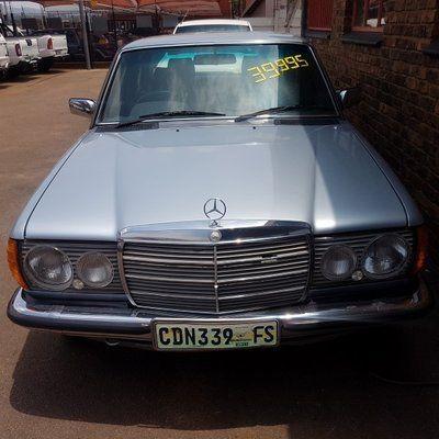 1984 Mercedes Benz E Class 230 E At Ac W 123 Gauteng Pretoria