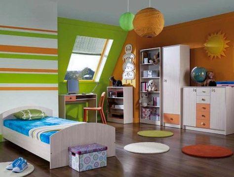 62 Green Orange Rooms Ideas Orange Rooms Green And Orange Bedroom Orange