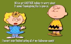 Best Funny-Cute-Happy Thanksgiving Quotes | Charlie brown ...