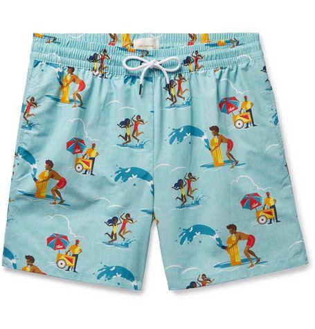 Dessert ICY Cones Summer Mens Swim Board Shorts Summer Beach Short Suits
