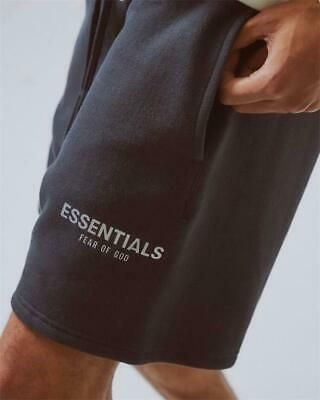 INS NEW FOG Essentials Fear of God Shorts Reflective /& Embroidery LOGO Sweatpant