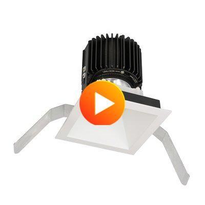 Wac Lighting Volta 5 75 Remodel Led Retrofit Recessed Lighting Kit Finish White In 2020 Retrofit Recessed Lighting Led Wac Lighting