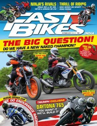 Get Your Digital Copy Of Fast Bikes India Magazine October 2018
