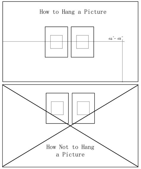 Height To Hang Pictures