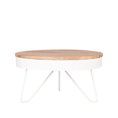 Greenberg Coffee Table Borough Wharf Colour Table Base White