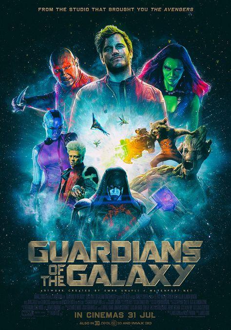 Guardians Of The Galaxy - Key Art Design