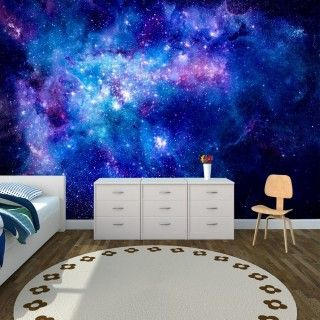 Space Gas Cloud Wall Poster Star Wall Poster Wall Wall