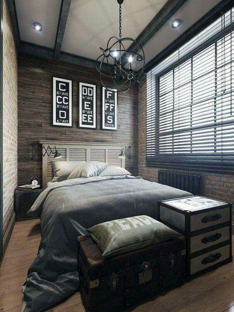 Epingle Par Intime Deco Sur Themes Chambre Style Industriel