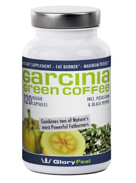 Gloryfeel Garcinia Cambogia Plus Green Coffee Bean Extract