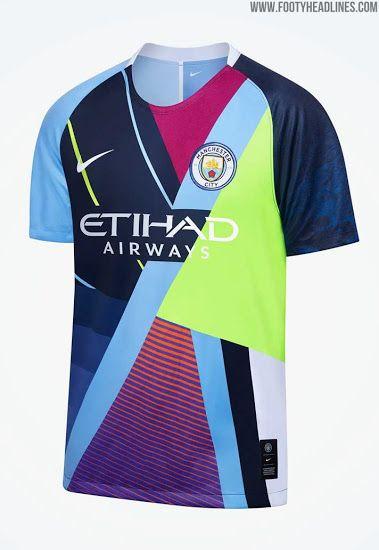 Nike Manchester City Celebration Mashup Jersey Released Manchester City Jersey Manchester