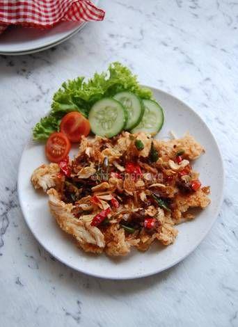 Resep Ayam Geprek Sambal Mbe Oleh Fitri Sasmaya Resep Resep Ayam Ayam Dada Ayam