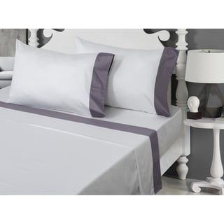400 Thread Count 100 Egyptian Cotton Pillowcase Set Lavander King Royal Cotton Pillow Cases Cotton Sheet Sets Egyptian Cotton Sheets
