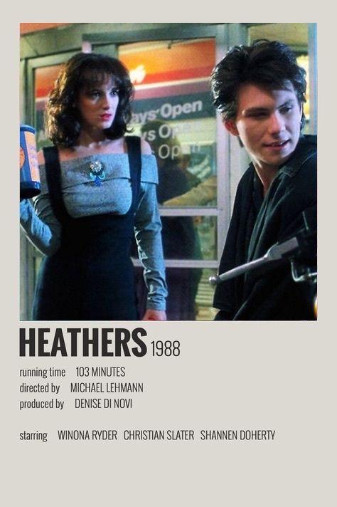 Heathers polaroid movie poster