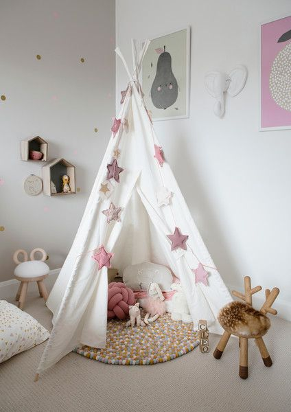 Teepee Time - A Creative Director's Dreamy Modern Farmhouse - Photos
