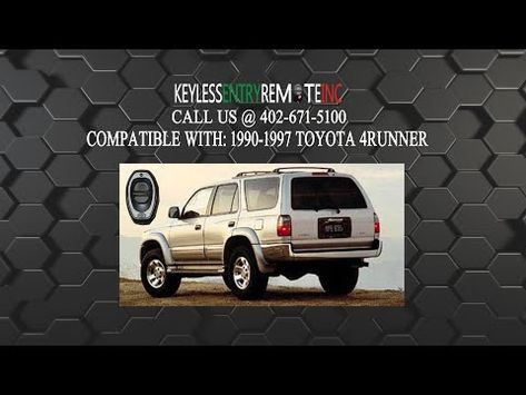 How To Change The Battery In A 1990 1997 Toyota 4runner Key Fob