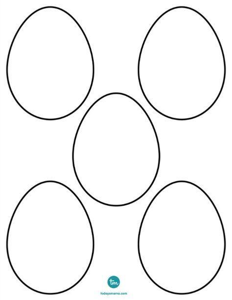 Zendoodle Blank Easter Egg Coloring Page On Todaysmama Com Ostern Geschenke Basteln Malvorlagen Ostern Basteln Fruhling Ostern