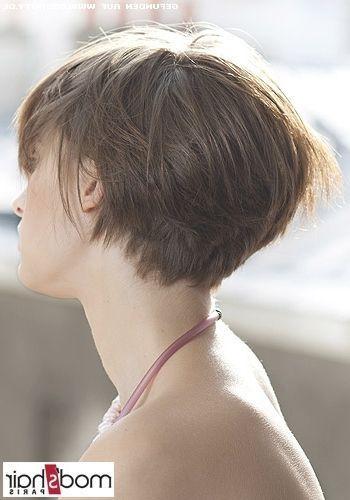Bob Frisuren Mit Kurzem Nacken 2017 Hair Styles Short Hair Styles Short Hairstyles For Thick Hair