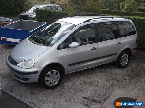 Car For Sale 2002 Ford Galaxy Zetec Manual 16v 2 3 Petrol With
