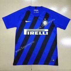 huge discount a4e21 41494 2019-20 Inter Milan Home Black &Blue Thailand Soccer Jersey ...