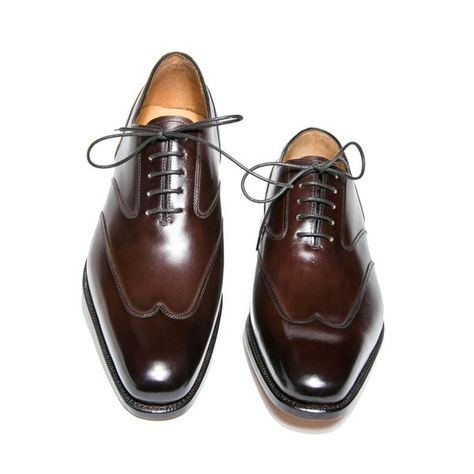 Richelieu à bout golf, montage Goodyear - Oxford Shoe, Goodyear welted - Altan Bottier - La boutique - 2