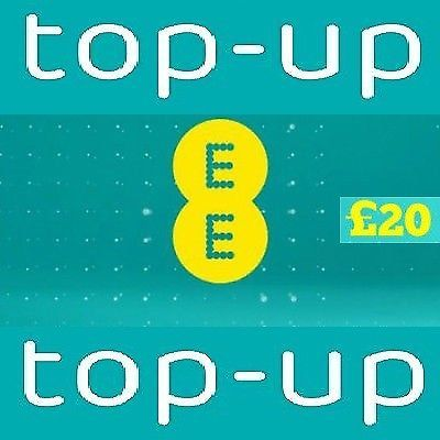Ee Network 20 Top Up Credit E Voucher Code Coupon Top Up Buy Ebay Irland Https Ebay To 2q7vd3w Coding Networking Coupons