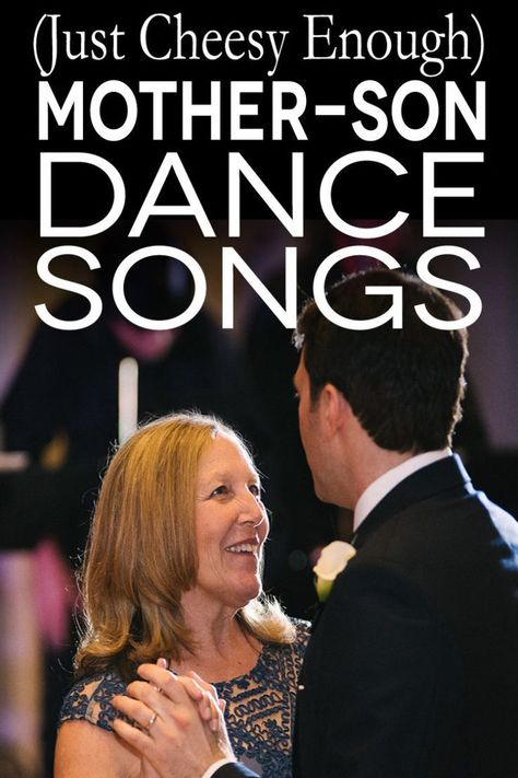"""The post """"photo of a mother and song dancing with text overlay & cheesy enough) mother son dance songs& appeared first on Pink Unicorn Dance Mother Groom Dance Songs, Mother Son Wedding Songs, Mother Son Songs, First Dance Songs, Father Daughter Dance, Wedding Reception Songs Dance, Wedding Song List, Best Wedding Songs, Wedding Playlist"""