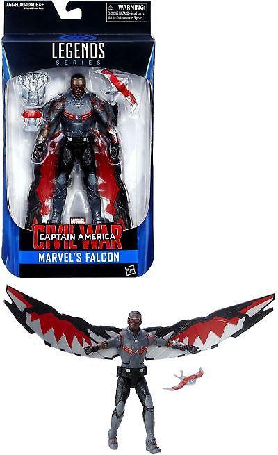 Marvel Legends Series Captain America Civil War Marvel/'s Falcon ACTION FIGURE