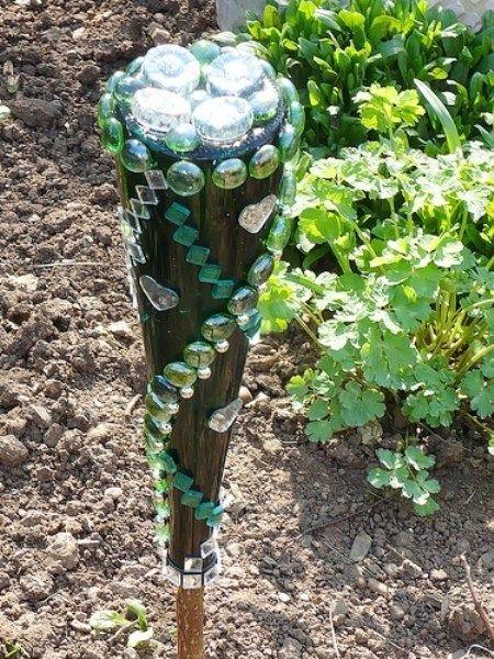 Creating A Flea Market Glass Garden Glass Garden Art Glass