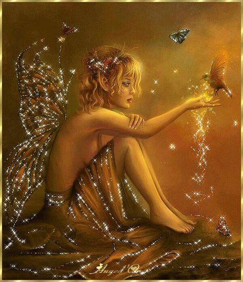 Sparkly Fairy.