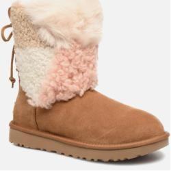 Ugg Damen W Classic Short Patchwork Stiefeletten Boots Beige Ugg Australia In 2020 Mit Bildern Stiefel Uggs