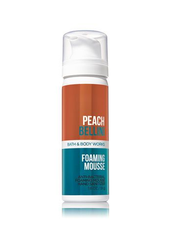 Peach Bellini Foaming Hand Sanitizer Bath And Body Works Bath