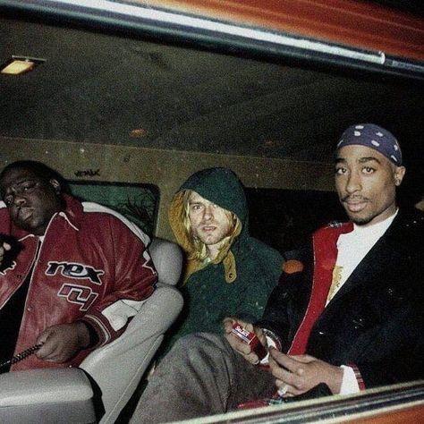 Biggie Smalls, Kurt Cobain & Tupac Shakur