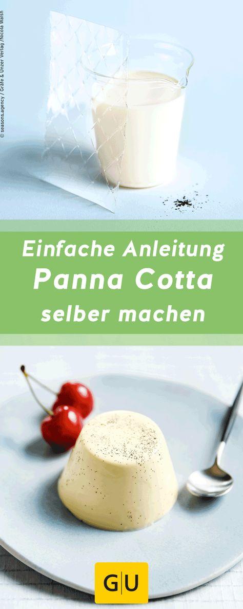 Photo of panna cotta selber machen