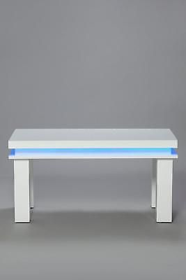 White Table Led 3d Coffee Table Illuminated Infinity Mirror Effect Remote Rf 189 00 Mirror Effect Infinity Mirror Table
