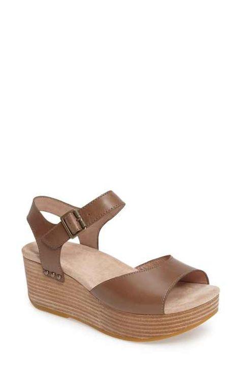 c44cad30cb1 Dansko Silvie Platform Wedge Sandal (Women)