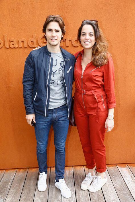 Pin for Later: Quand les Stars Se Rendent à Roland Garros Anouchka Delon et Julien Dereins